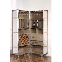 China classical America style antique aluminium drinks cabinet on sale