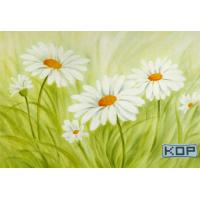 Polyester Fabric White Digital Printing Canvas Waterproof 30M For Photos Manufactures