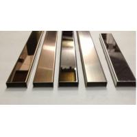 China Stainless steel custom U-Channel No4 brushed/ No8 mirror finish  304 /201/316 GRADE wholesale
