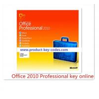 China Permanent original microsoft office 2010 professional product key Activation Online on sale