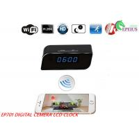 China 160D Width Angle Wifi Camera Clock 12 Hours EP701 Multi Function For Recording wholesale