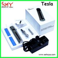 5 color 18650 Tesla VV mod with LCD display original mechanical mod with DCT