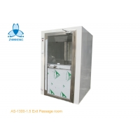 China 220V Pass Through Powder Coated Steel Cleanroom Air Shower wholesale