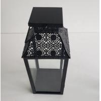 Buy cheap Metal fashional cheap antique white vintage aged hurricane lantern Home from wholesalers
