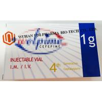 China Antibacterial Sterile Powder For Injection Cefepime Injection USP Finished Medicine For Adults wholesale