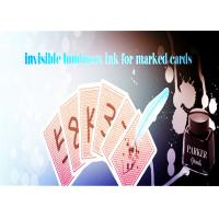 China Magic Trick Luminous Ink With A Marker Pen For Making Poker Invisible Marks wholesale
