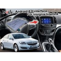 China Android 6.0 Car Navigation Box For Opel Vauxhall Insignia Buick Regal video interface on sale