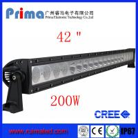 "China 42"" 200W Cree Led Light Bar! Single Row Light Bar wholesale"
