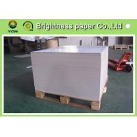 China Coated 2 side white back duplex board 300gsm in sheet or roll for making boxes wholesale
