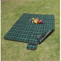 China Customize Pattern of 100% polyester waterproof picnic blanket for bulk sale wholesale