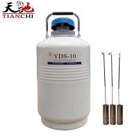 China TIANCHI 10L liquid nitrogen cylinder YDS-10 in Lithuania wholesale