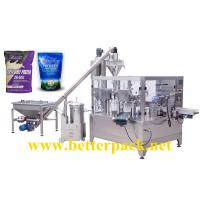 Quality Automatic milk powder whey protein powder zip lock bag doypack packaging equipment for sale