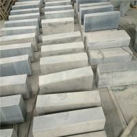 China China Granite Kerbs Dark Grey Granite G654 Granite Kerbstone Curbstone Flamed Surface wholesale