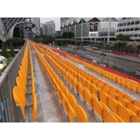 China Hot Dip Galvanized Steel Riser Scaffold Spectator Stands on sale