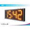 "China Yellow 10"" Led Clock Display Digital Clock Timer For Sport Stadium wholesale"