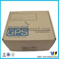 China Electronic Products Decorative Paper Boxes , Embossed Wrapping Paper Box wholesale