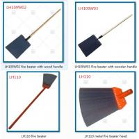 "LH109F01 Fire swatter with 60"" fiber glass handle, forest firefighting tools to extinguish minor fires"