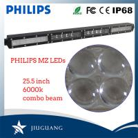 China Super Bright 4D Reflector Led Offroad Lights , Truck Lcar Roof Led Light Bar wholesale
