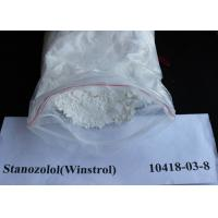 China Stanozolol / Winstrol Oral Anabolic Steroids CAS 10418-03-8 Legal Oral Steroids wholesale