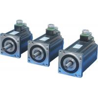 Buy cheap 110mm Frame 220VAC Brushless AC Servo Motor 4 Pole Incremental Encoder IP64 from wholesalers