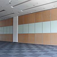 China Movable Conference Center Mobile Divider Modular Acoustic Folding Screen Glass Partition Wall For Hospital on sale
