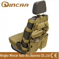 China Outside 4x4 Off-Road Black / Sand Car Seat Cover with Pockets on sale