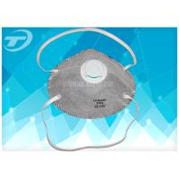China valved FFP3 dust mask with activated carbon ,  filter penetration at least 99% of airborne particles wholesale