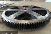 China Awning big grinding wheel marine gear Good Quality Helical Gear for Heavy Duty Machinery wholesale
