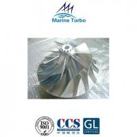 China T- TPS Series Turbo Compressor Impeller For T- ABB Turbocharger Mixed-Flow Type Turbine wholesale