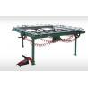 China LC mechanical Tighten Economical silk screen mesh stretching machine/china pneumatic screen stretching machine suppliers wholesale