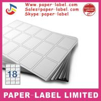 China Label Dimensions: 105mm x 49.5mm A4 labels wholesale