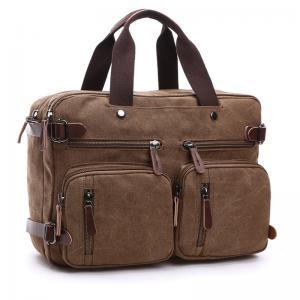 China Dual Use Fashion backpack Notebook Computer Bag Messenger Shoulder Bag Men Women Briefcase Business laptop Bag wholesale