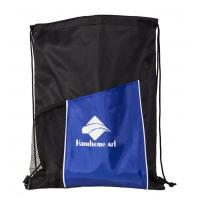 China 210d Polyester Drawstring Shopping Bag with Low Price-HAD14021 wholesale