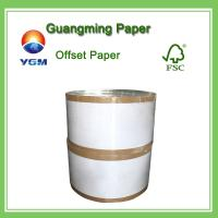 China 60g 70g 80g Wood Free Offset Printing Paper Uncoated Fine Paper Folding Resistance wholesale