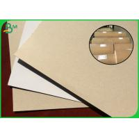 China 250G 300G White Coated Duplex Board Recycled Pulp Material For Making Boutique Box on sale