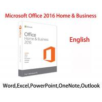 China 100% Online Activation Microsoft Office 2016 Home And Business Product Key For Windows wholesale