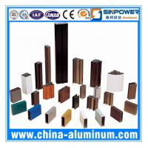 China AA6063-T5 Powder Coating Aluminium Window Profiles (Alu Profile) wholesale