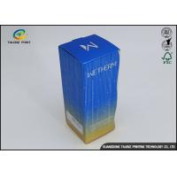 China OEM Offset Printing Facial Cleanser Toner Packaging Box Cosmetics Box wholesale