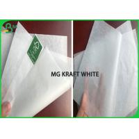 China Custom Size A1 Sheet 28gsm 30gsm MG White Kraft Paper Roll For sandwich & Fast Food wholesale