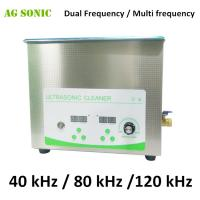 China Effective Tabletop Multi Frequency Ultrasonic Cleaner Systems 40KHz / 80KHz / 120KHz wholesale