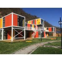 China Office   Pre Manufactured Container Homes  , Portable Prefab Cargo Container Homes wholesale