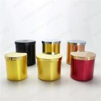China Luxury Festival Decorative Pillar Recyclable Metal Candle Holders Wholesale wholesale