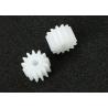 China 13 Straight Teeth Metric Spur Gears Plastic PMMA 6.5mm ISO Standard wholesale