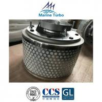 China T- MAN Marine Turbocharger Parts / T- TCR12 Silencer For Marine Diesel, Biofuel And Gas Engines wholesale