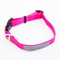 China Reflective Waterproof Dog Collars , Smell Proof Dog Collar Polyester Webbing wholesale
