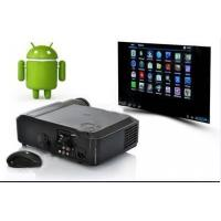 China 1080P Digital LCD Projector WIth Android 4.04 System & Wifi For Home Theatre wholesale