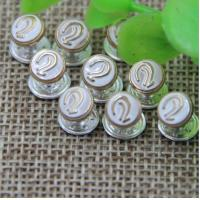 China 2018 Spring new pink color zinc alloy hardware 7 mm ear pattern bang nail rivets for clothing luggage wholesale