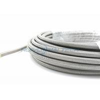 China High Pressure Metallic Braided Sleeving , Stainless Steel Braided Cable Sleeving wholesale