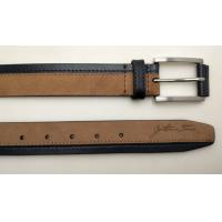 China High Fashion Suede Women ' S Genuine Leather Belts In Brown And Navy Color wholesale