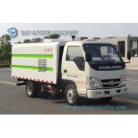 China Forland 90hp LHD RHD Road Cleaning Truck Four Brushes Suction Sweeper Vehicle 2.5M3 Mini Street Sweeper Truck For Factor wholesale